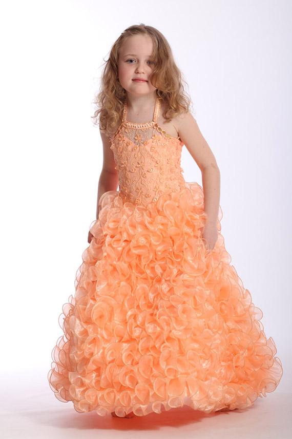 Детские платье для девочки нарядное выкройка - d83aa