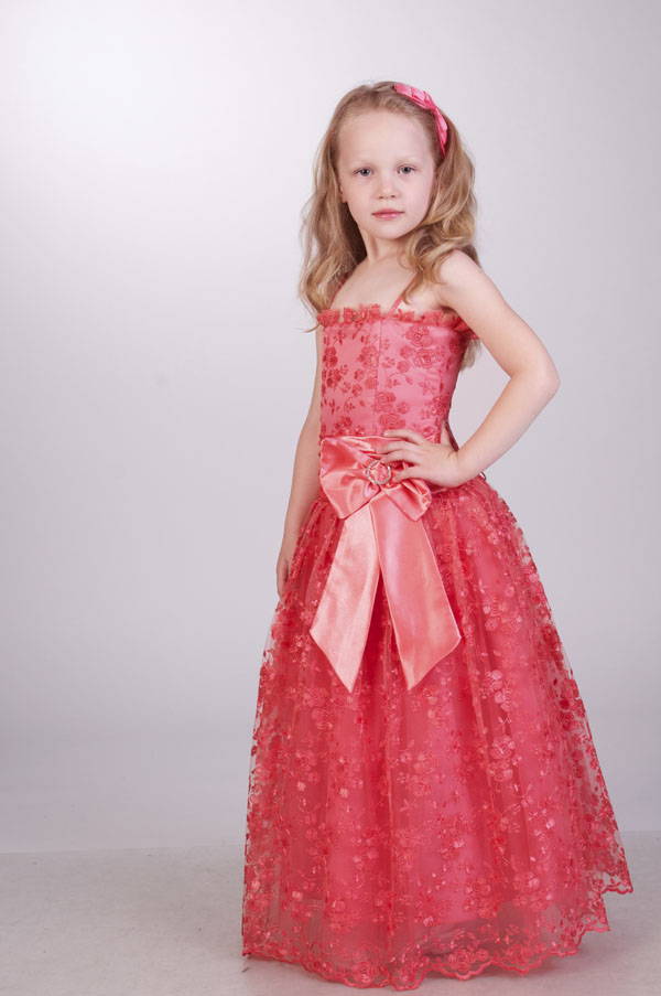 Нарядные платья детские картинки