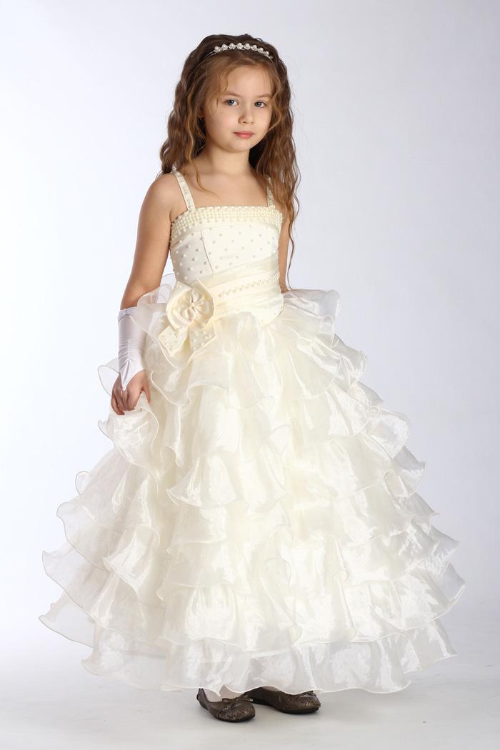 Детские вечерние платья для девочек