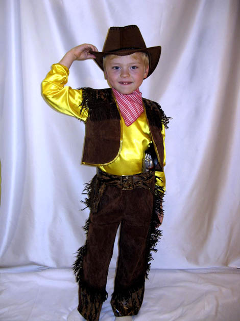Новогодние костюмы ковбоя для мальчиков своими руками