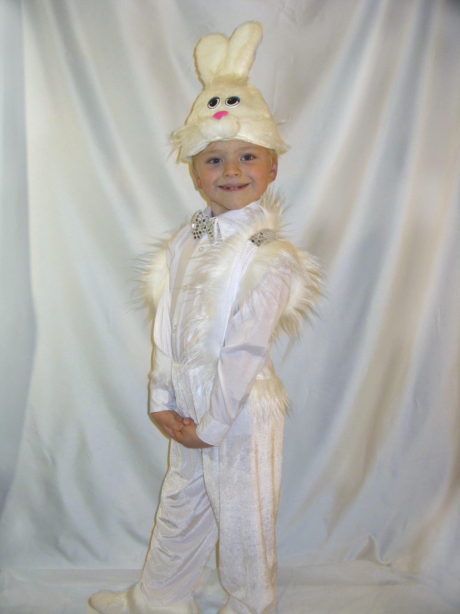 Костюм зайчика, новогодний костюм зайчика, детский костюм ... - photo#43