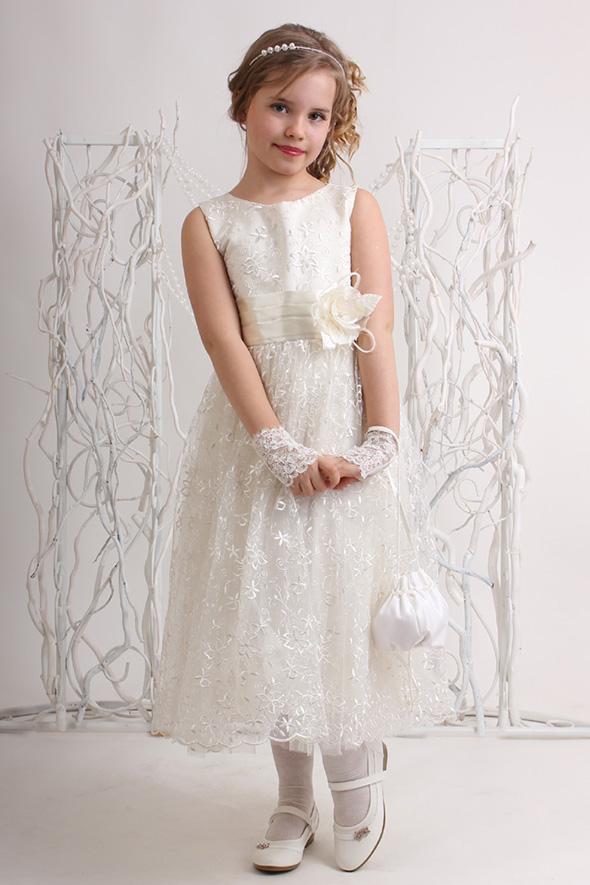 Прокат выпускное детское платье