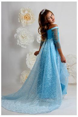 фата с вечерним платьем